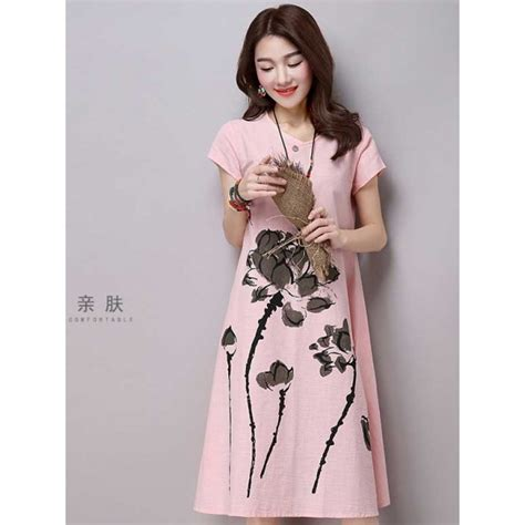 Midi Dress Skirt Dress Korea Fashion Wanita Blouse Kemeja Jepang midi dress korea d3191 moro fashion
