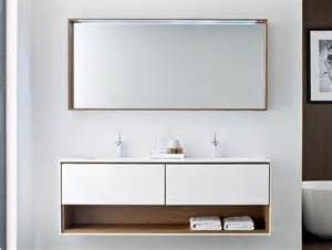 Designer Bathroom Vanity by Frame Fr1 Modern Designer Bathroom Vanity In White Lacquer