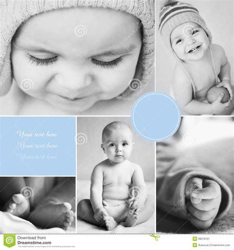 imagenes bebe negro collage de las fotos del beb 233 blanco y negro imagen de