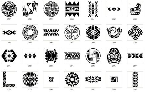 tribal symbols and meanings tattoos tribal images meso deko aztec american