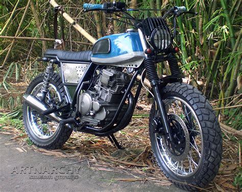 Shockbreaker Scorpio Original quot jump quot modern clasic scambler yamaha scorpio sx225cc artnarchy custom garage