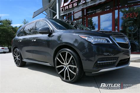 2006 acura mdx tire size acura mdx with 24in lexani gravity wheels exclusively from