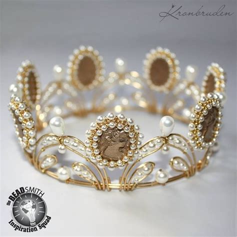 craft wire crown a bridal crown with beadsmith craft wire tarnish resistant