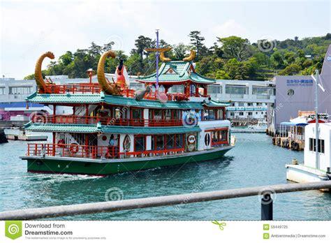 boat tour japan japanese tour boat editorial image image 59449725