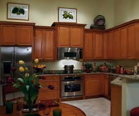 Maple Finish Kitchen Cabinets Maple Kitchen Cabinets In Medium Brown Finish Kitchen Craft