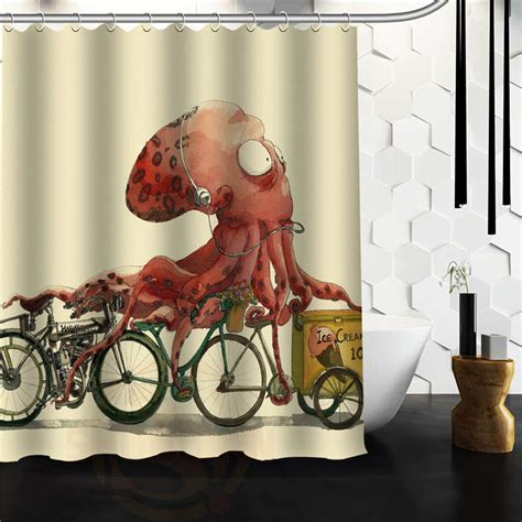 octopus bathtub online get cheap octopus shower curtain aliexpress com