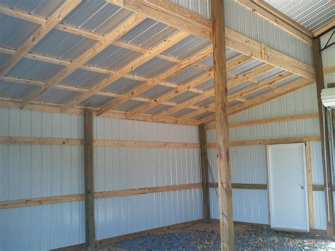gambrel roof garage customer projects february 2011 apm pole building garage kits how to build a pole barn shed roof best image voixmag com