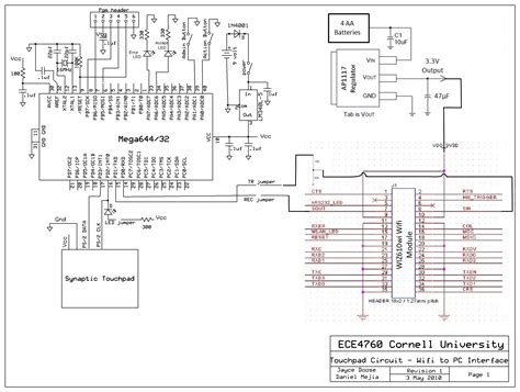 wifi receiver circuit diagram circuit and schematics diagram gesture based touchpad security system