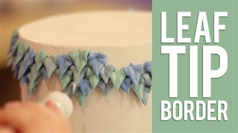 Leaf Tip Cake Decorating by How To Decorate A Buttercream Cake Using Only Tip 352