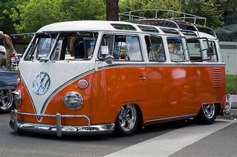 orange volkswagen van vw classics