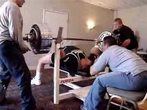 tank abbott 600 pound bench press
