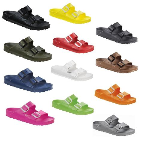 rubber birkenstock sandals birkenstock arizona rubber waterproof slide sandals