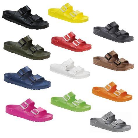 birkenstock waterproof sandals birkenstock arizona rubber waterproof slide sandals