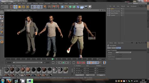 cinema 4d character template cinema 4d gta 5 character models rigged