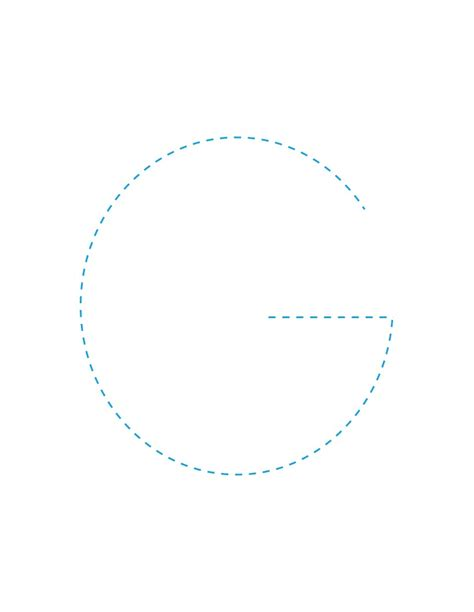 How To Draw The Letter G