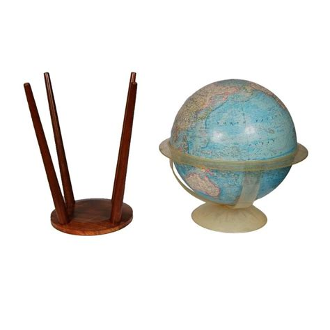 Floor L Globe Replacement by National Geographic Floor Globe With Walnut Stand For Sale