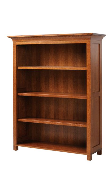 48 quot wide mission bookcase ohio hardwood furniture