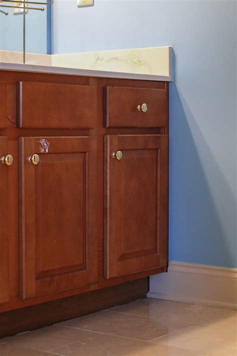 How To Refinish A Bathroom Vanity How To Refinish A Bathroom Vanity Bower Power