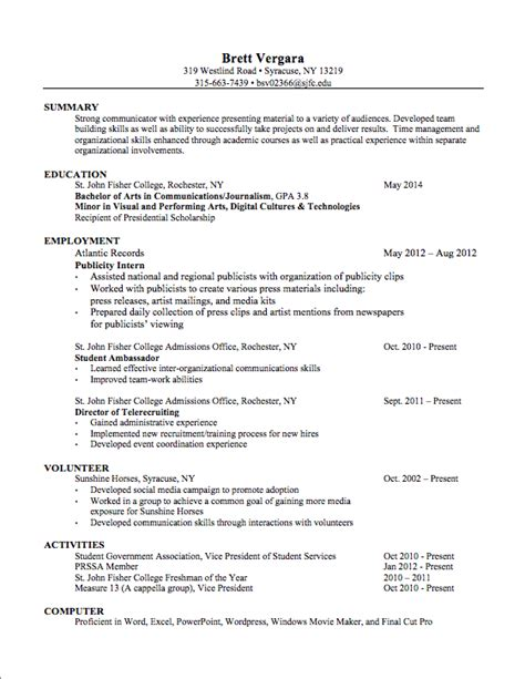 Resumes For Dummies by How To Write A Resume For Dummies 28 Images 10 How To