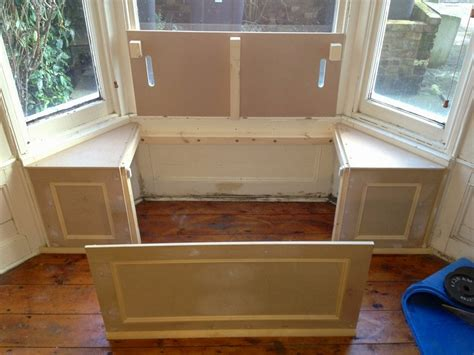 building a window bench seat with storage under window storage bench plans home design ideas
