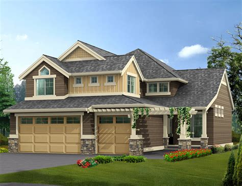 narrow lot house plans with basement narrow lot home with finished basement 23072jd