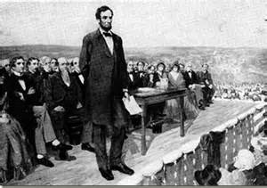 lincoln and gettysburg address commemorating the gettysburg address district of calamity