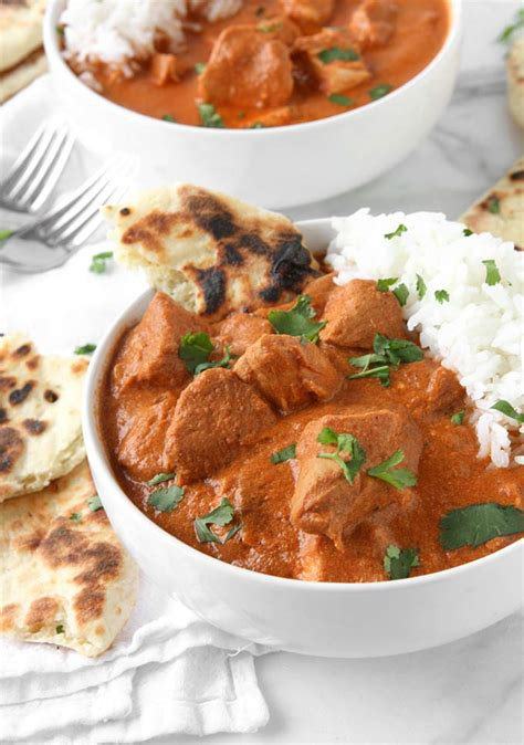 healthy slow cooker indian butter chicken recipe the