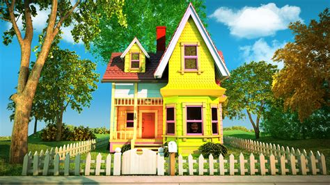 film up home video pixar up house w i p 4 171 3dvertex
