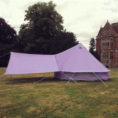 bell tent awning lilac bell tent canopy boutique cing