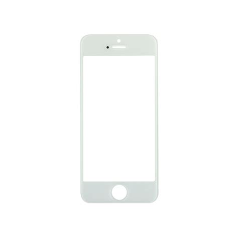 Hp Iphone 5 Transparan iphone 5 5c 5s white glass lens screen fixez