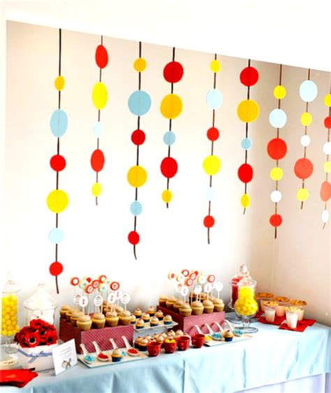 birthday decoration ideas at home for