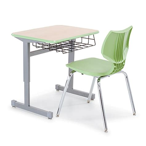 Single Student Desk Silhouette Desks Smith System Students Desk