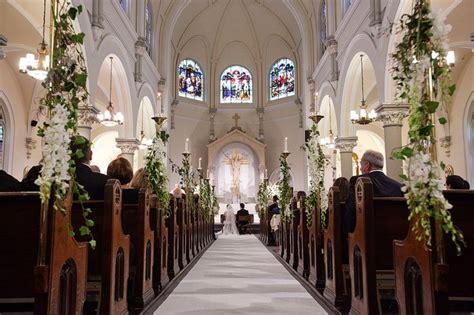 Wedding Ceremony Flowers Church by Best 25 Church Wedding Decorations Ideas On