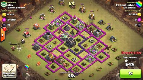 montapuercos clash of clans ataque con montapuercos y dragones clash of clans youtube
