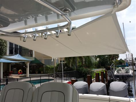 boat awnings boat shade cockpit cover and boat awnings modern yacht