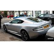 Silver Aston Martin DBS  Sound Drive Off YouTube