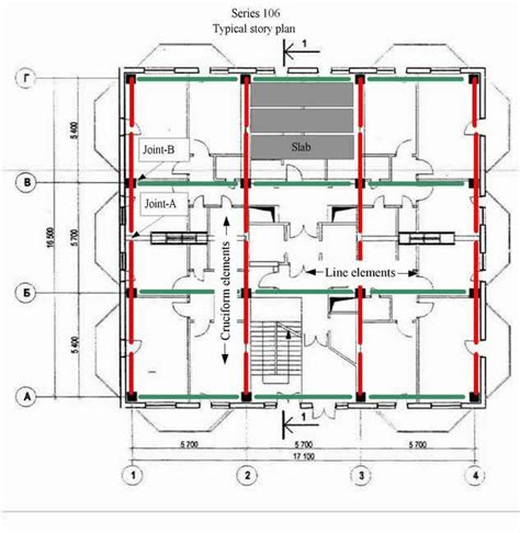 layout for load bearing structure world housing encyclopedia whe