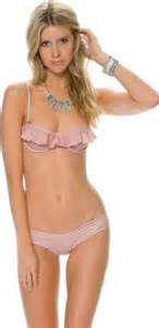 Brown Ruffle Curtains The Best Bikinis For Making A Small Bust Look Bigger Glamour