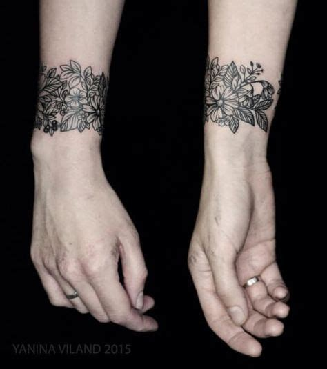 tattoo e wrist best 25 wrist bracelet tattoos ideas on pinterest