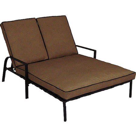 braddock heights double chaise lounge seats  walmartcom