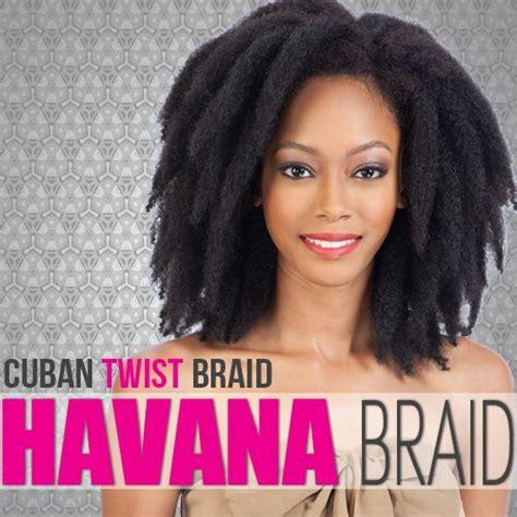 cuban twist braid for havana style double strand style