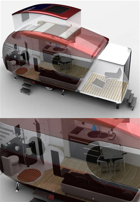 caravan design caravan design that is inspired by airstreams and 50s
