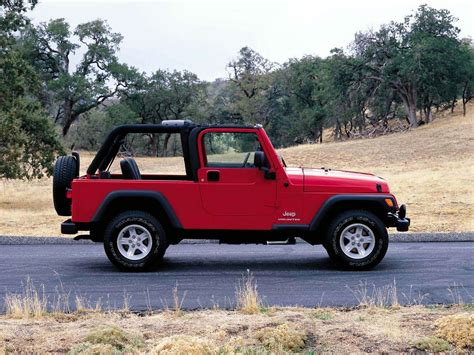 Jeep Tj Unlimited Jeep Pictures 2004 Wrangler Unlimited Specifications