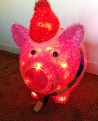 best lighted pig yard art crunchymetromom