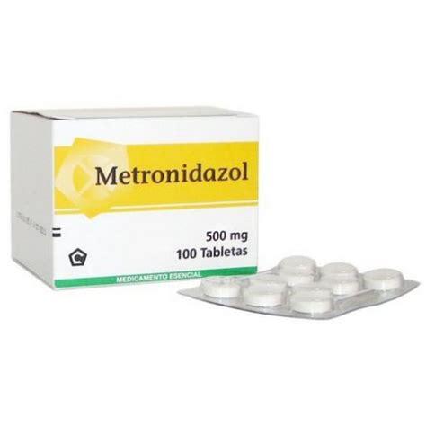 Metronidazol 500mg 10 S metronidazol