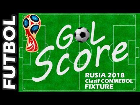 Calendario Eliminatorias Rusia 2018 Excel Fixture Eliminatorias Conmebol 2017 Frases Y Pensamientos