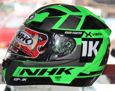 Helm Nhk Gp 1000 X Vision Ultra Se 2 Visor Terbaru jual helm nhk gp1000 ultra xvision pinlock green fluo di