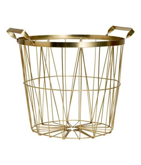 gold wire basket hexagons master bedrooms and house doctor on