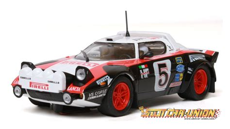 Lancia Stratos Slot Car Ninco 50622 Lancia Stratos Pirelli Slot Car Union