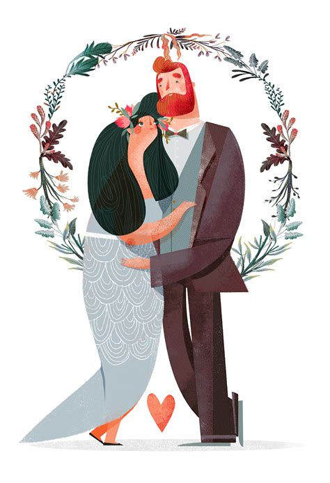Wedding Illustration by Sposi A Modo Mio On Behance
